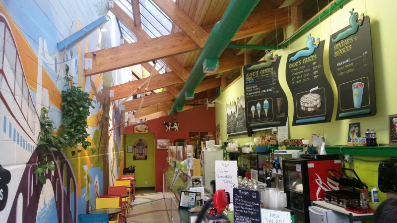 Ogo's Ice Cream & Food in Penticton is seen in this photo from the shop's Facebook page.