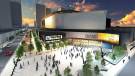 A new rendering of the Calgary Event Centre, which is expected to be completed in 2024