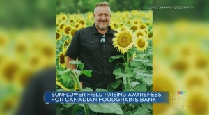 Farmer promotes awareness of Food Grains Bank