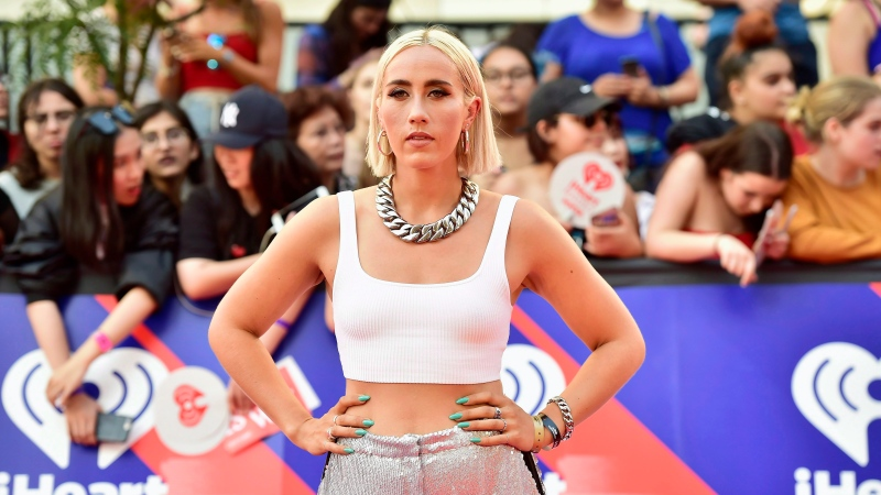 Ralph arrives on the red carpet at the iHeartRadio MMVAs in Toronto on Sunday, Aug. 26, 2018. THE CANADIAN PRESS/Frank Gunn