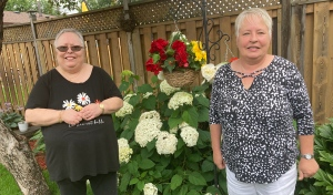 Residents of a home in New Sudbury are sharing their concerns about a big black bear roaming throughout a residential area. They are worried someone will be hurt after some very up-close-and-personal encounters. (Alana Everson/CTV News)