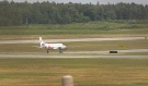 The North Bay Jack Garland Airport is receiving financial help from Ottawa as the airport begins to recover from the COVID-19 pandemic. (Eric Taschner/CTV News)