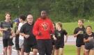 Robert 'Blastoff' Esmie is helping future athletes in Sudbury reach their full potential. (Alana Pickrell/CTV News)