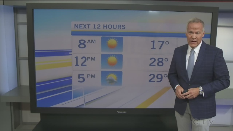 CTV Morning Live Weather Aug 05