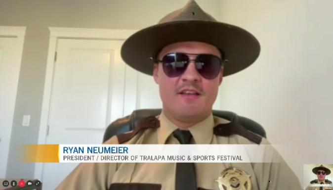 Ryan Neumeier talks about Tralapa's great lineup of music and sports happening this weekend