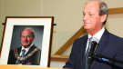 In 2018 former mayor Cal Patterson was presented with his official mayor's portrait that hangs in the Wasaga Beach council chamber. (Courtesy: Town of Wasaga Beach)