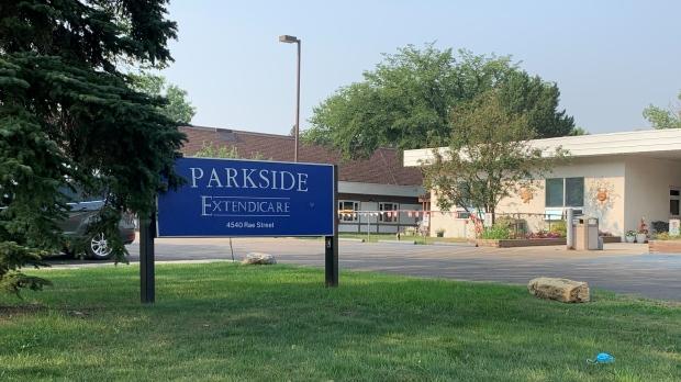 Regina's Extendicare Parkside care home is seen in this photo, taken August 5, 2021. (Wayne Mantyka/CTV News)