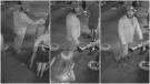 Banff RCMP has released photos of a suspect connected to an assault in the mountain town. (RCMP handout)