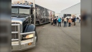 Samaritans Purse is sending a disaster relief unit tractor-trailer to aid in the relief effort in the B.C. Interior in the wake of wildfires. (Courtesy Samaritans Purse)