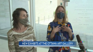 New exhibits at the Ottawa Art Gallery