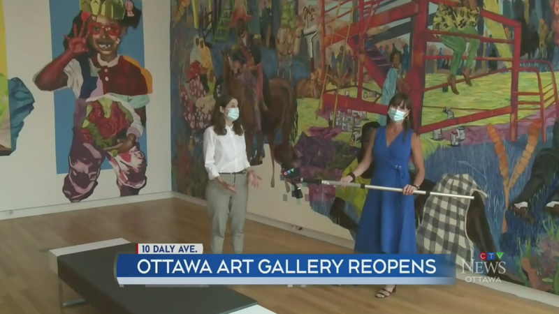 Ottawa Art Gallery reopens