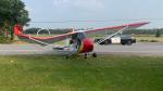 An ultra-light plane crashed near Carleton Place on Wednesday. (Photo courtesy: Ontario Provincial Police)