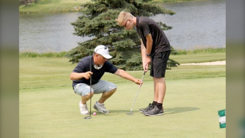 The city's adaptive golf program is returning in 2022 after a successful first season. (Courtesy City of Calgary)