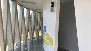 Voted by the public, the Borden Park Pavilion restroom was announced as Canada's top restroom in a competition held by Cintas Canada.