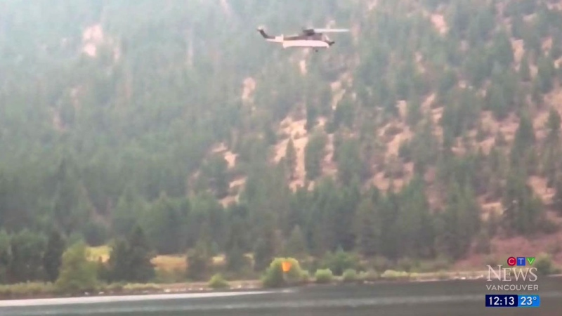 Strong winds a challenge in wildfire zones