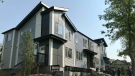 The housing project includes four fourplexes - eight units each - totaling 32 units. (CTV News Edmonton)