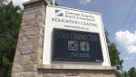 The Simcoe County District School Board on Thursday, August 5 (Mike Arsalides/CTV News)