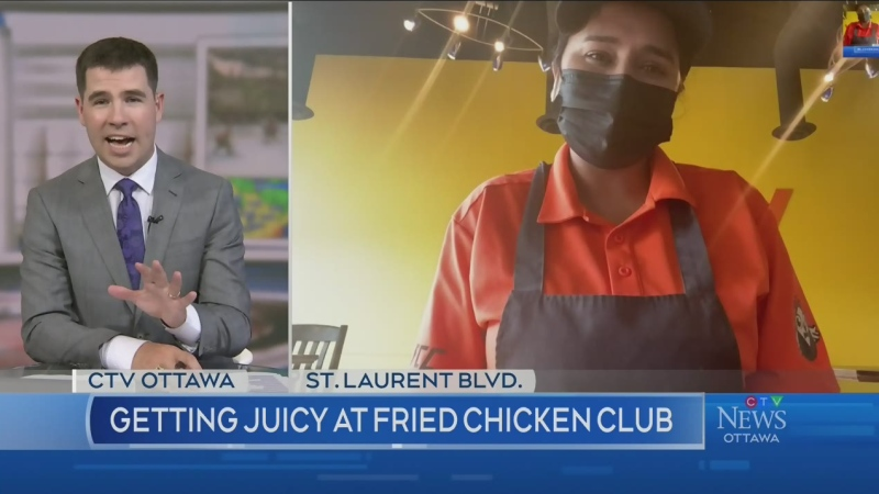 Five and Dine: Fried Chicken Club