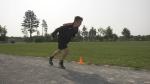 Austin Ingram of Petawawa training for the Paralympic Games in Tokyo. (Dylan Dyson/CTV News Ottawa)