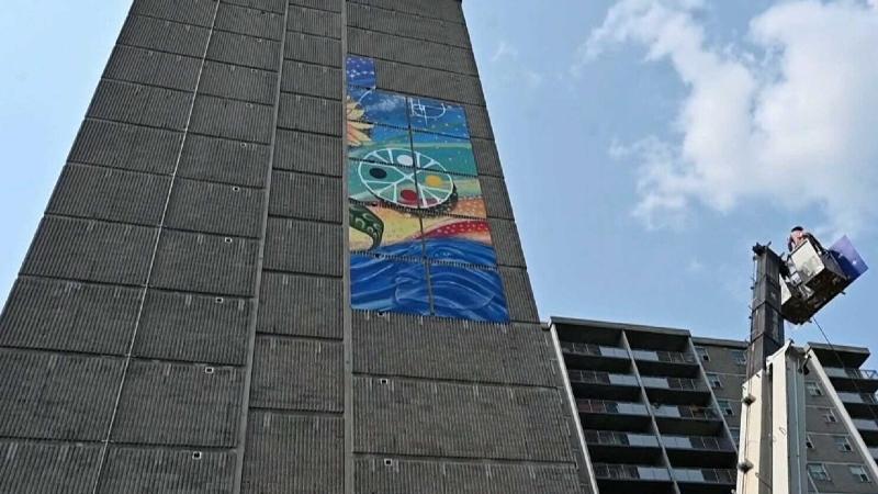 Ottawa's tallest mural installed
