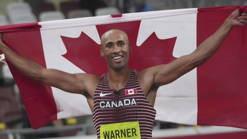 Damian Warner wins decathlon Olympic gold