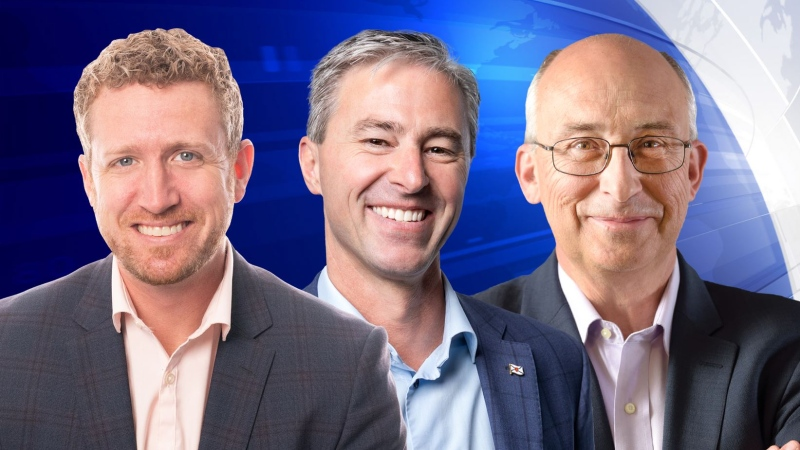 The leaders of Nova Scotia's three main political parties took part in an election roundtable on Thursday, hosted by CTV Anchor Steve Murphy.