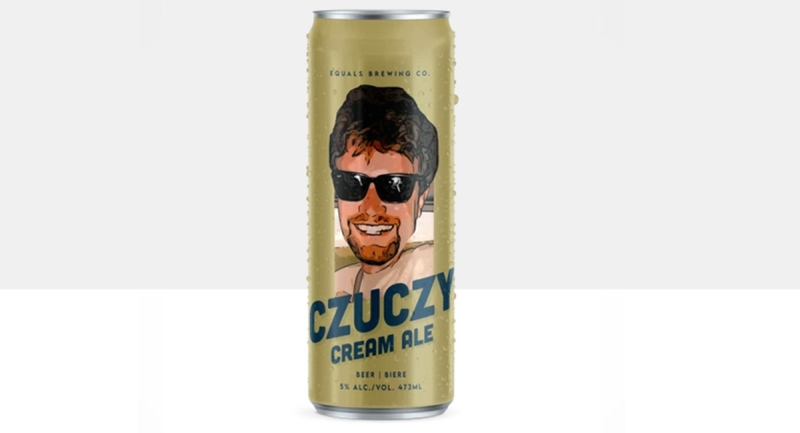 Czuczy Cream Ale made by the Equals Brewing Company in London, Ont. (Source: drinkbangarang.shop)