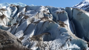 This file photo  from April 23, 2017, shows Herbert Glacier near Juneau, Alaska, in the Tongass National Forest. (AP Photo/Becky Bohrer, File)