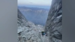 3 rescued from Vancouver Island's tallest peak