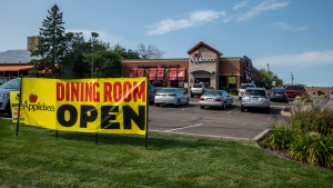 The pandemic was difficult for Applebee's, pictured here in Minnesota on September 5, 2020. (Michael Siluk/Education Images/Universal Images Group/Getty Images)