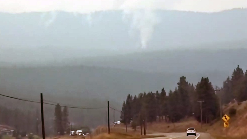 Wildfire growth triggers more evacuations