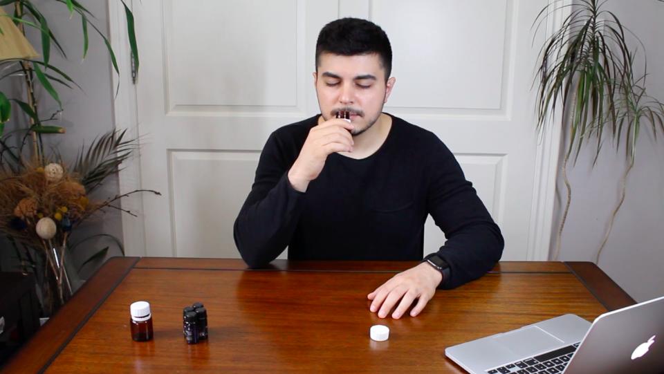 Bobby Rasouli demonstrates smell training