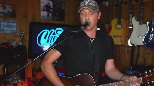 Cochrane musician performs Bon Jovi cover