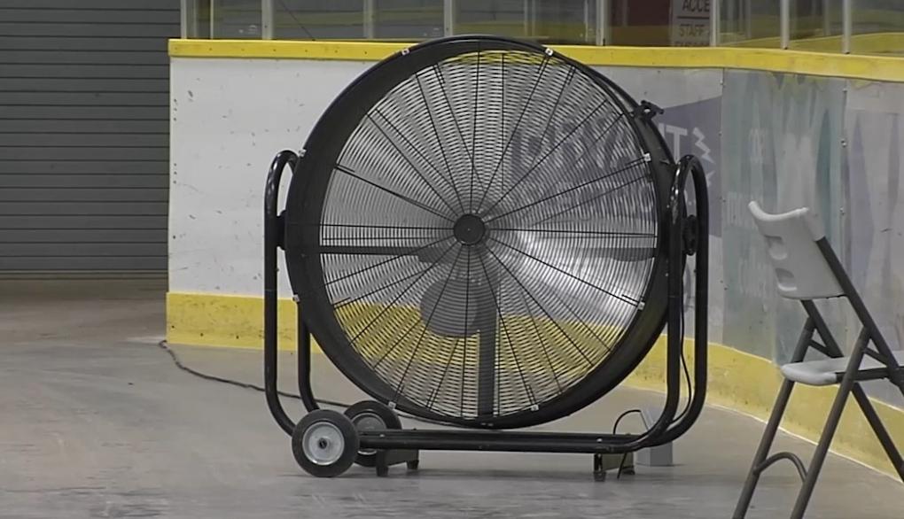 Cooling Centre fan