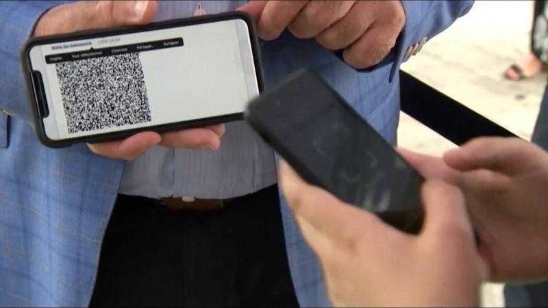 QR code, vaccine passport, scan