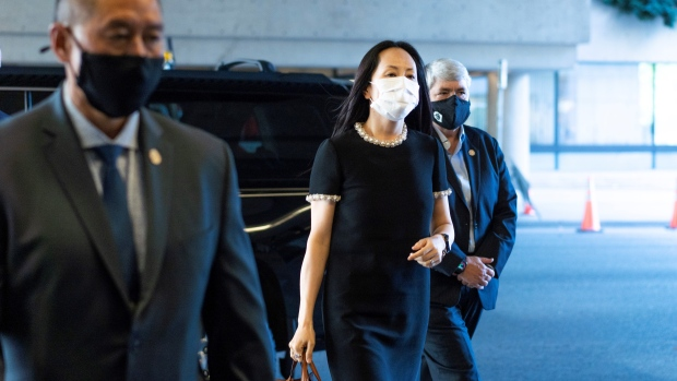 Beijing says charges against Meng Wanzhou 'nothing but fabrication' as extradition hearing enters final week