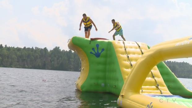 Exploring Sudbury's pop-up waterpark