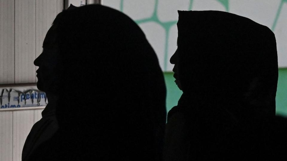 Afghan women in Kabul, Afghanistan