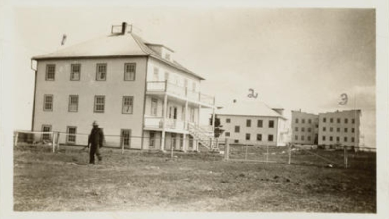According to the National Centre for Truth and Reconciliation, the residential school in Grouard, Alta., nearly 400 kilometres northwest of Edmonton, operated from 1894 to 1957. By 1949, Métis students accounted for half of the student body in residence. (Source: National Centre for Truth and Reconciliation.)