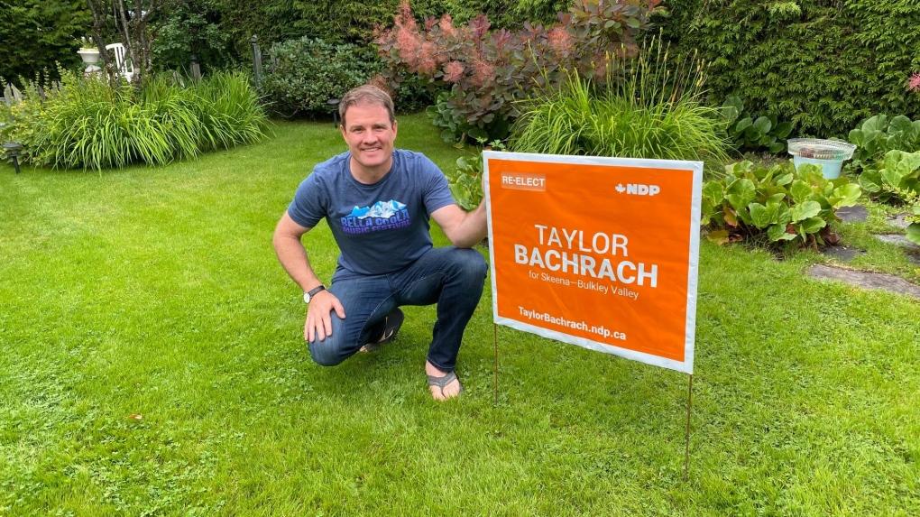Taylor Bachrach election sign