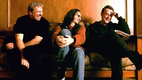 Members of the group Rush are shown in this undated handout photo.