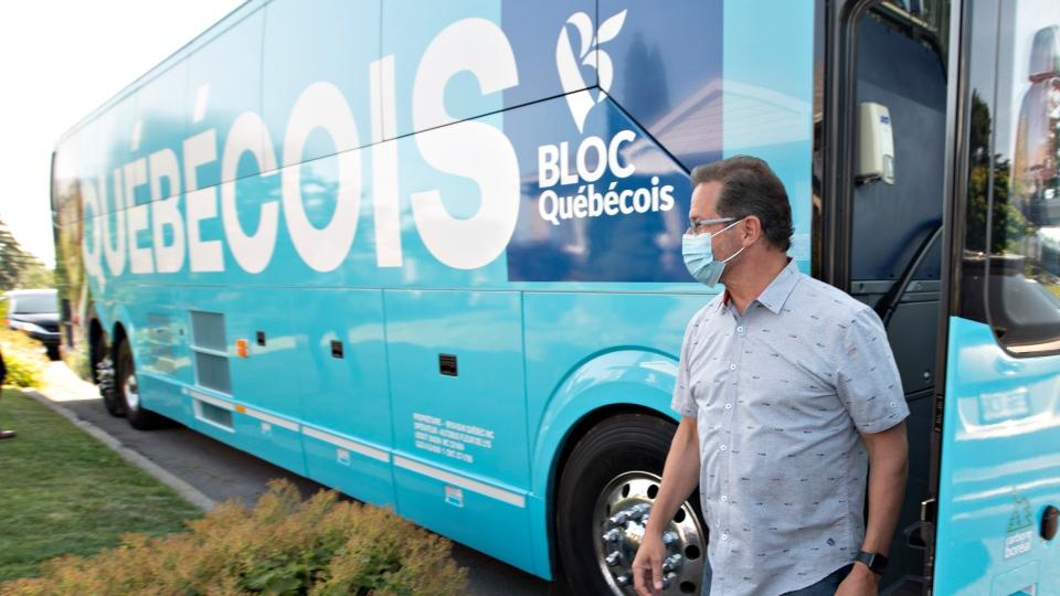 Bloc Quebecois bus