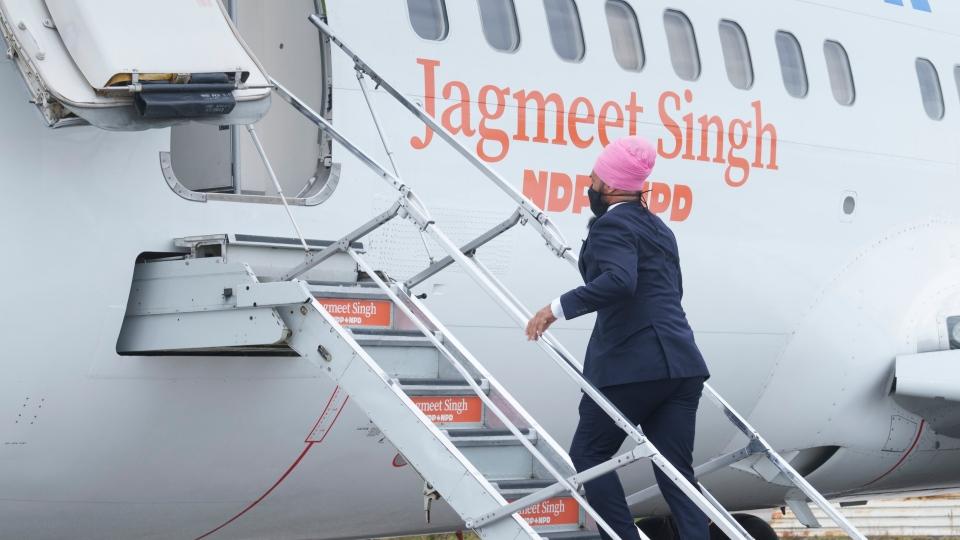 NDP plane