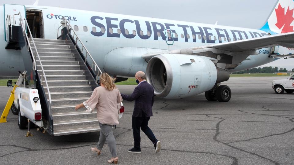 Conservative Party plane
