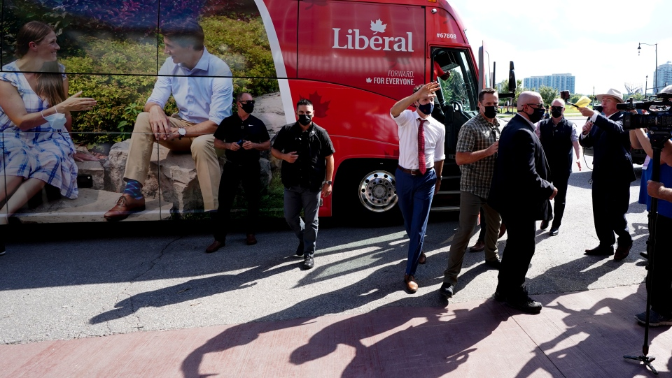 Liberal Party bus