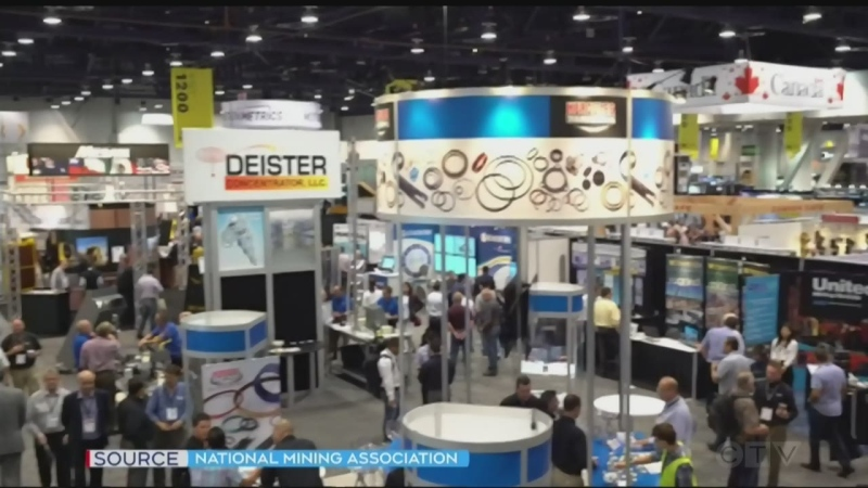 MINExpo 2021 is being held in Las Vegas Sept. 13 to 15, 2021 (National Mining Association)