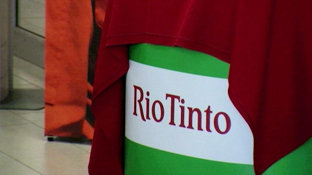 Rio Tinto barrel