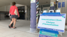 A COVID-19 immunization clinic in Ottawa. (Jackie Perez/CTV News Ottawa)