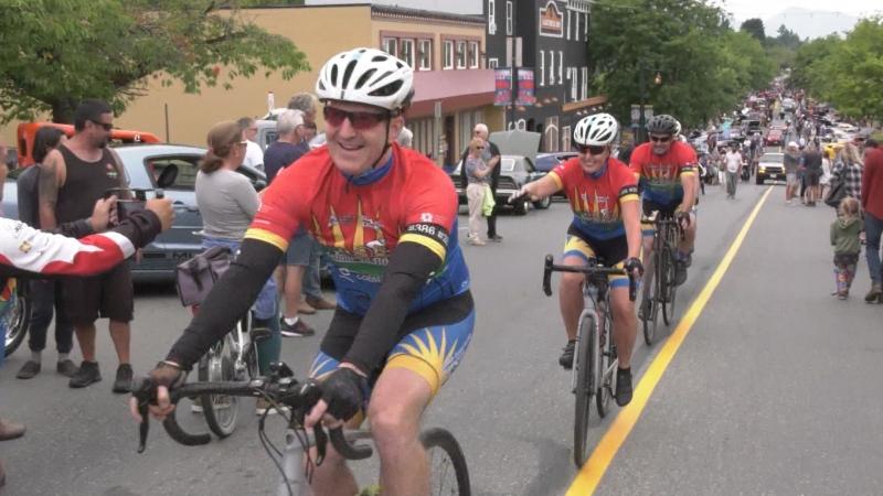 Cyclists gear up for Tour de Rock