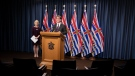 Dr. Bonnie Henry and Health Minister Adrian Dix give a COVID-19 update. (Province of BC/Flickr)